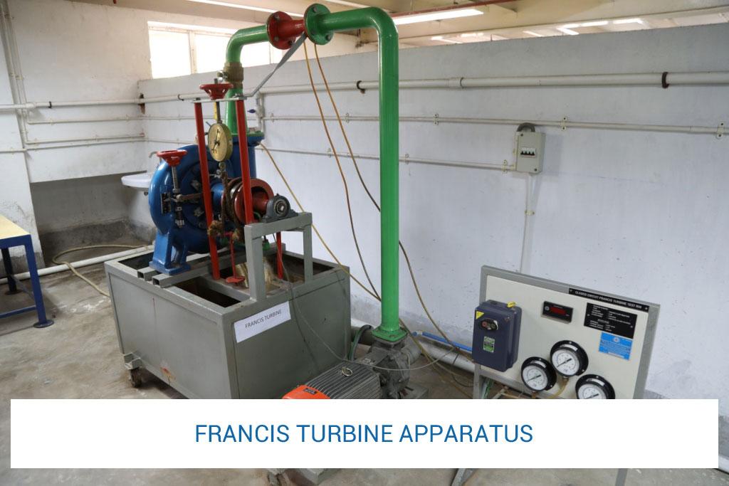 francis-turbine-apparatus
