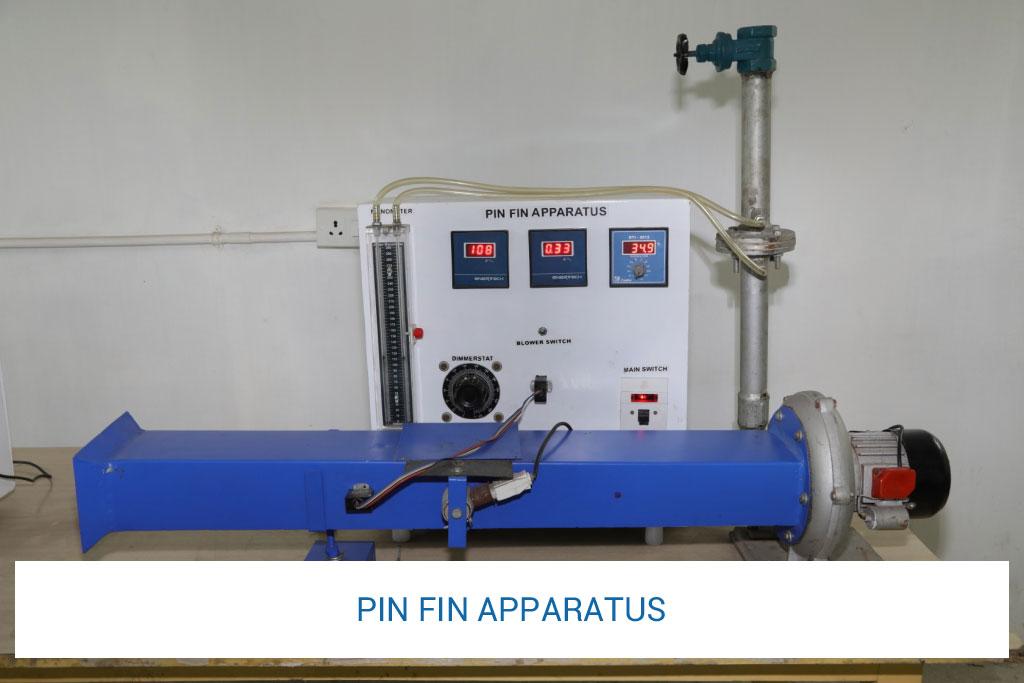 pin-fin-apparatus