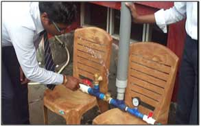 Hydraulic Ram Pump