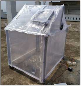 Solar Greenhouse Dryer