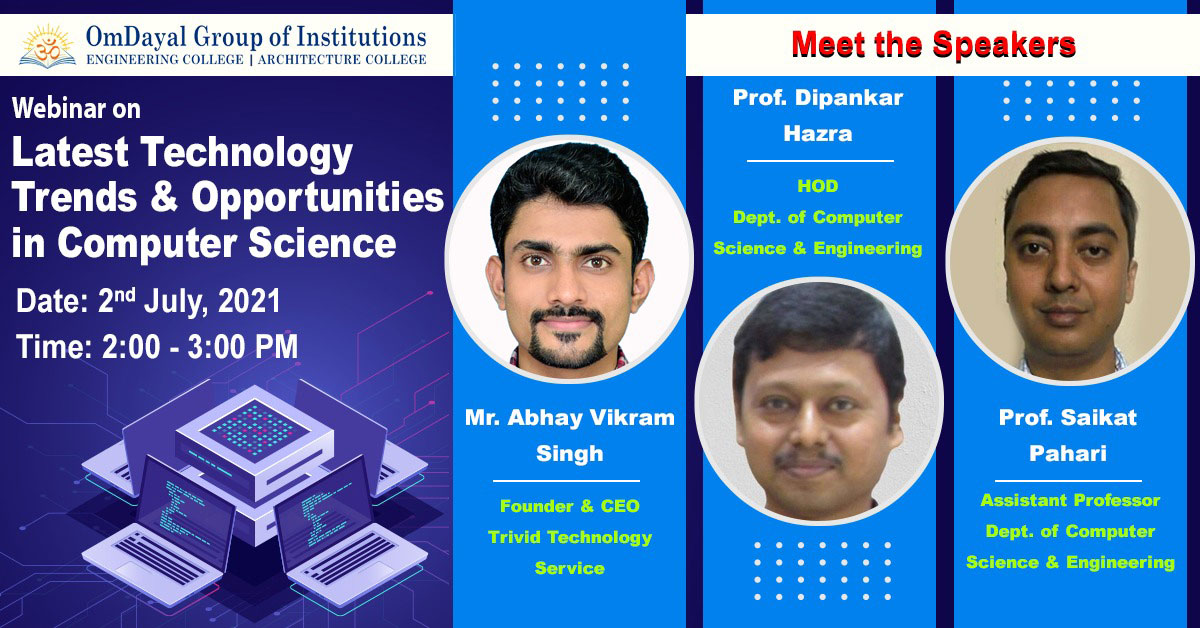 Latest Technology Trends & Opportunities in Computer Science