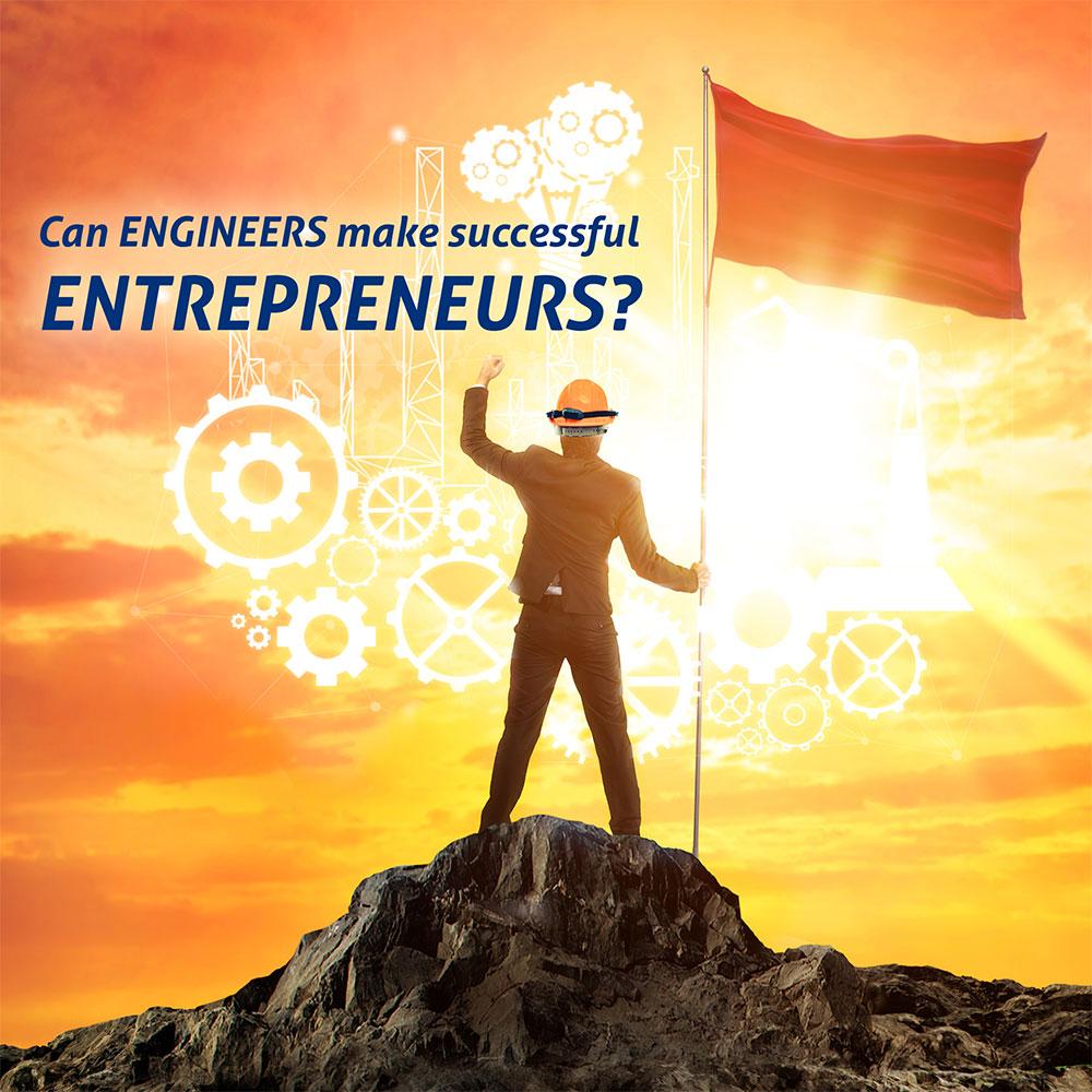 'Engineering' – A career as an Entrepreneur Banner