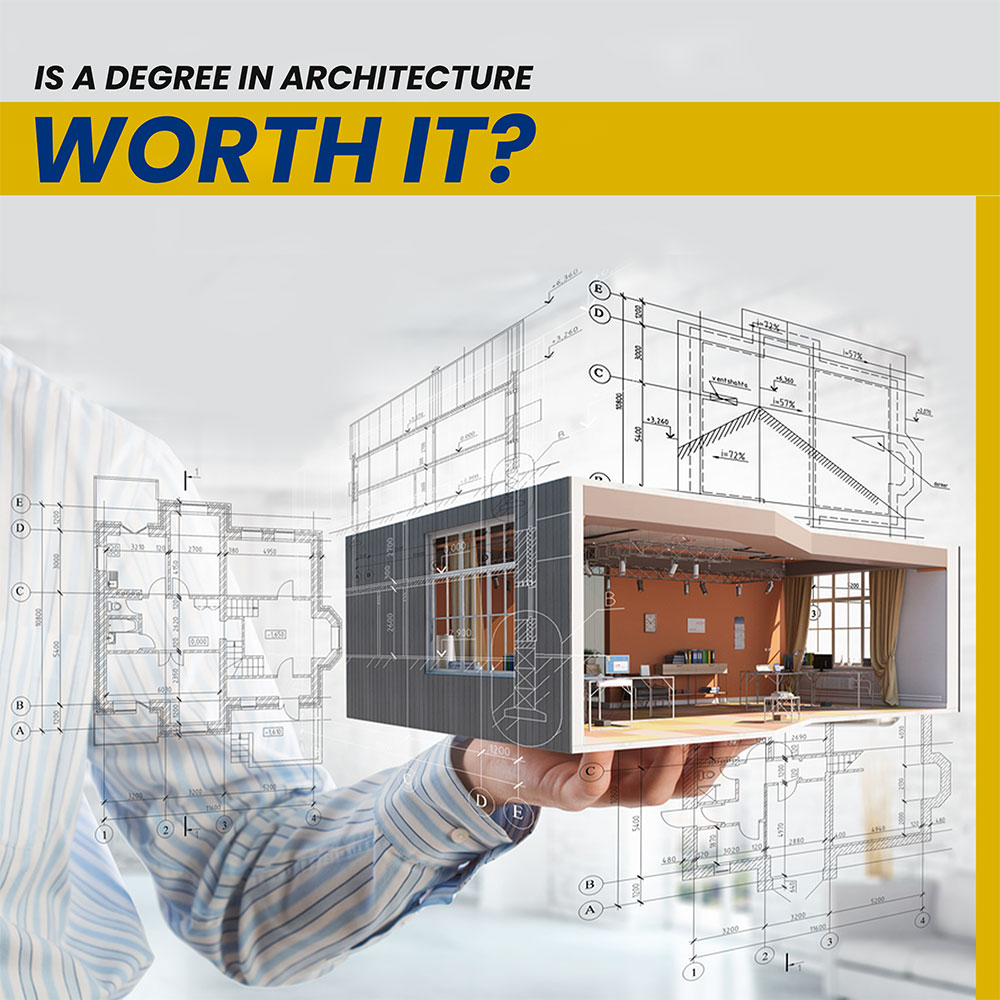 Successful careers can be built with an Architectural Degree Banner