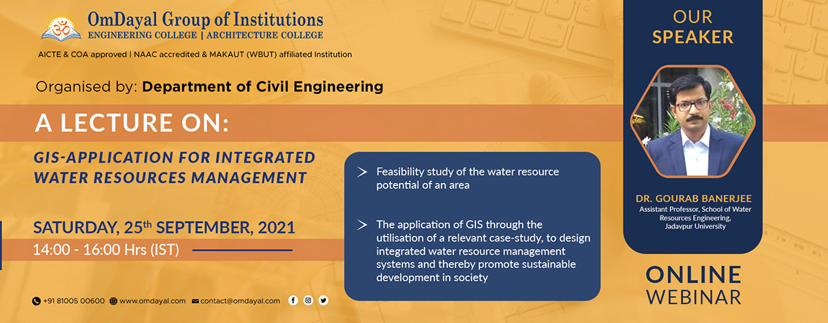 GIS-Application For Integrated Water Resources Management