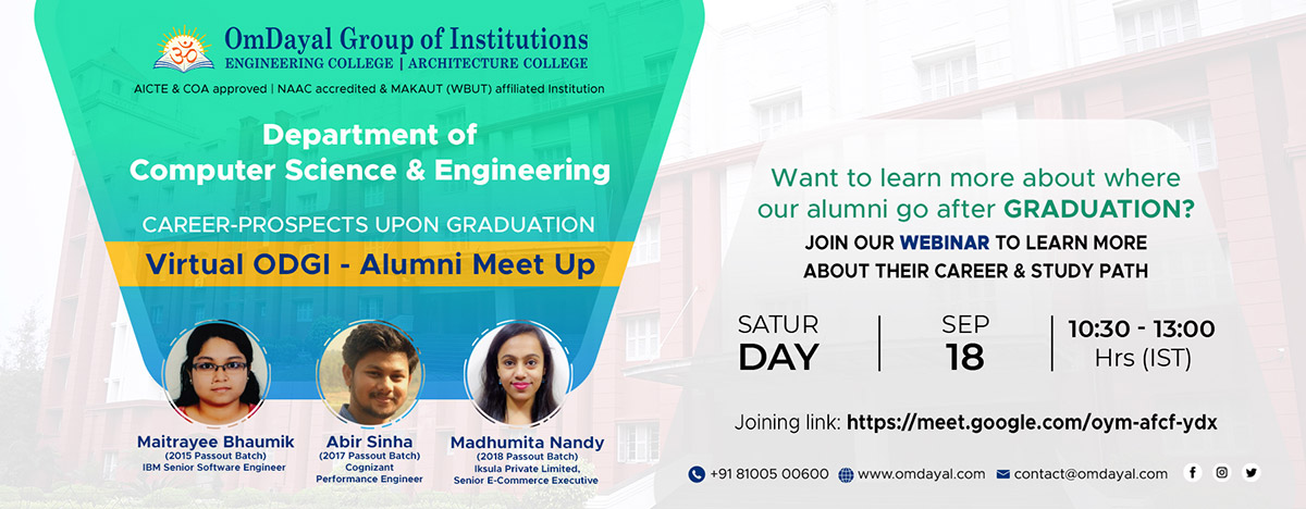 Virtual ODGI-Alumni Meet Up